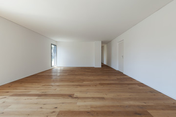 Obraz Interior, hall with parquet floor - fototapety do salonu