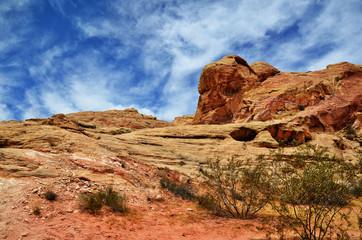 Rocce rosse della Valle del Fuoco