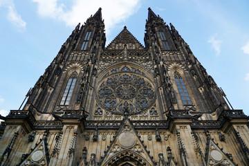 St Vitus Cathedral. Prague, Czech Republic
