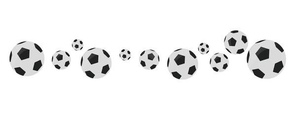 Fußball Banner Vektor