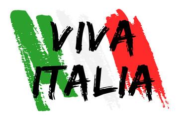 Drapeau Italie - Viva Italia