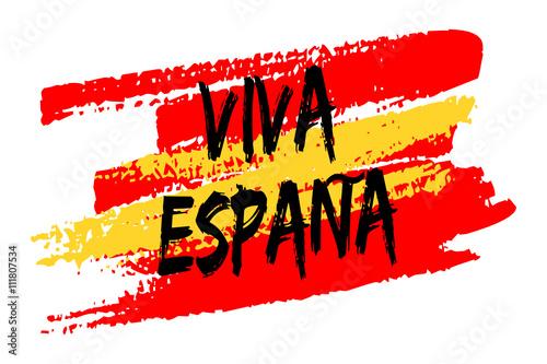 Drapeau espagne viva espana stock image and royalty free vector files on pic - Image drapeau espagnol a imprimer ...