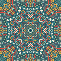 Abstract   geometric ornamental seamless pattern