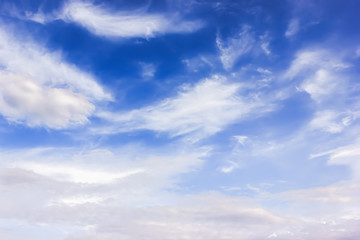 Background: sky with clouds