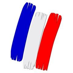 Signe tribale couleur France