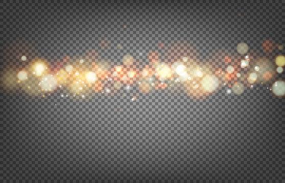 Soft bokeh and lights.
