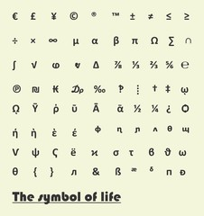 The symbol of life