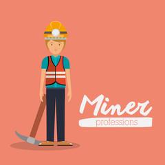miner profession  design