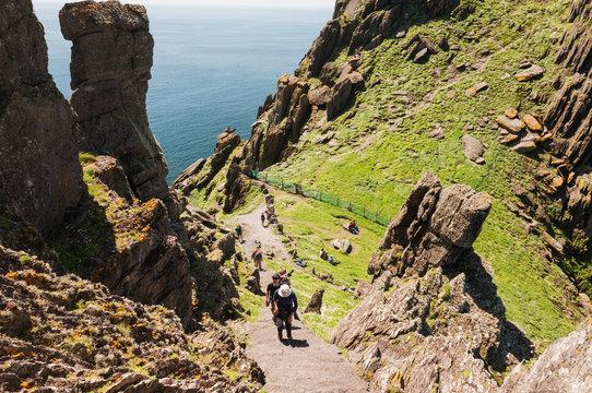 Skellig Michael, UNESCO World Heritage Site, Kerry, Ireland.