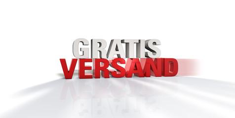 Gratis Versand - Typo - RW H