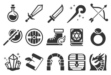 Game RPG icons