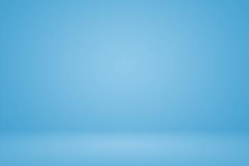 Smooth Dark blue with Black vignette Studio well use as studio b