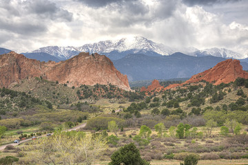 Gardens of the Gods, Colorado Springs, USA