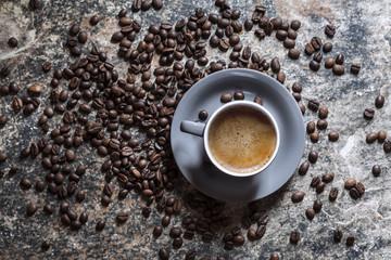 Door stickers Coffee beans Café Espresso