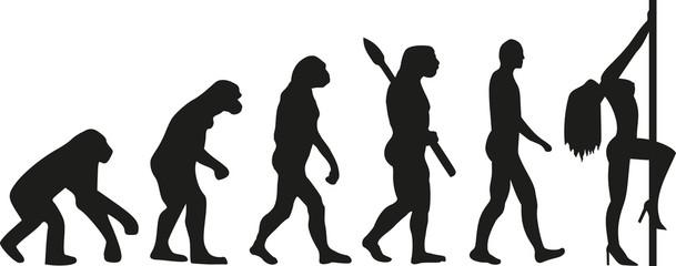 Hot girl evolution