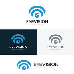 Eye Logo design vector template.