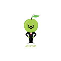 Apple costume character kids