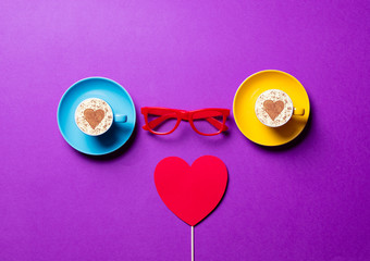 cups, toy, glasses