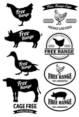 Free Range Meat Labels