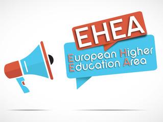 megaphone : EHEA