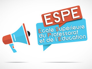 mégaphone : ESPE