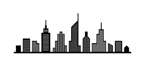 Line cityscape design
