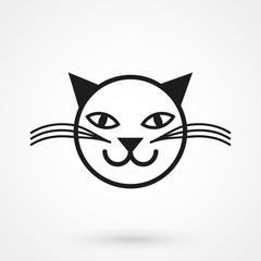 Vector cat icon