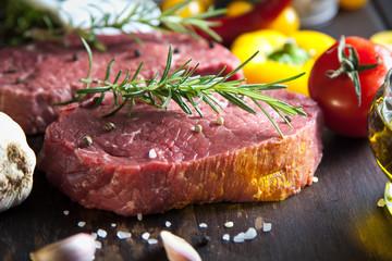 Frische Steaks