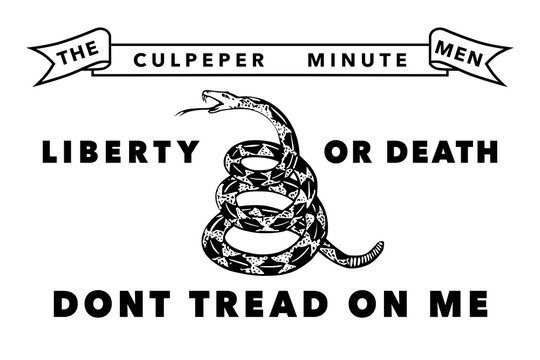 The Culpeper Minutemen flag, Authentic version