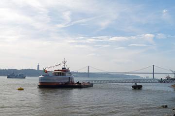 Lisbon Ferry boats