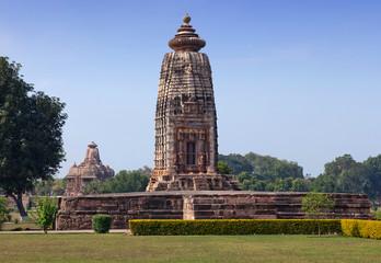 Ancient temple in Khajuraho, India