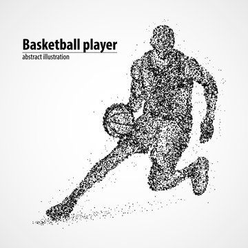 abstract, basketball, athlete