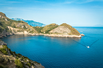 Panoramic point,Cape Campanella, Sorrento, Italy