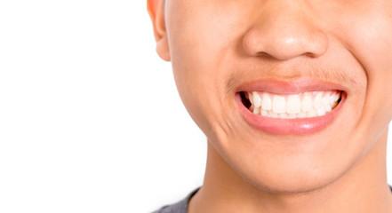 Nice smile and teeth