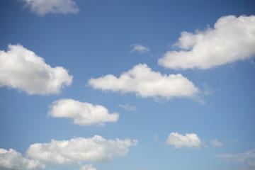 Summer sky background.
