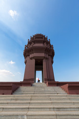 Independence Monument is a landmark in Phnom Penh, Cambodia