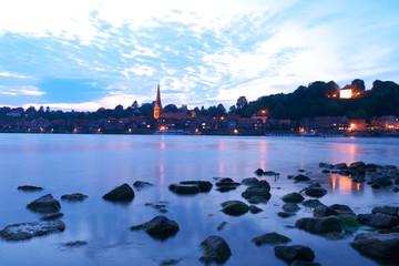 Lauenburg bei Nacht