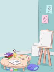 Art Room Interior
