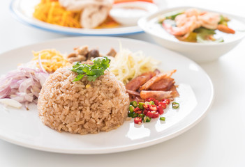 Shrimp-paste fried rice