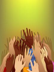 Hands Refugee