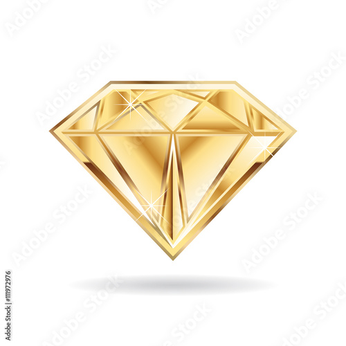 Gold Infinite Logo: