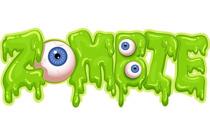 Zombie Typography