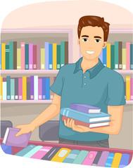 Man Bookstore Books