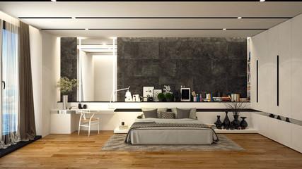 Bedroom desing in modern style