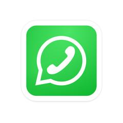 Vectro modern phone icon in bubble speech