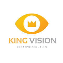 King Vision Logo template