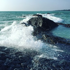 sea and rock