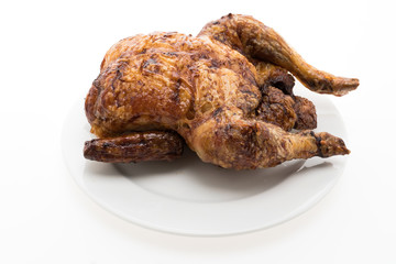 Roast and grill chicken meat