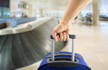 picking up my luggage