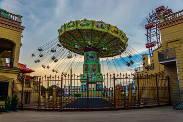 Swing Merry Go Round in Vienna